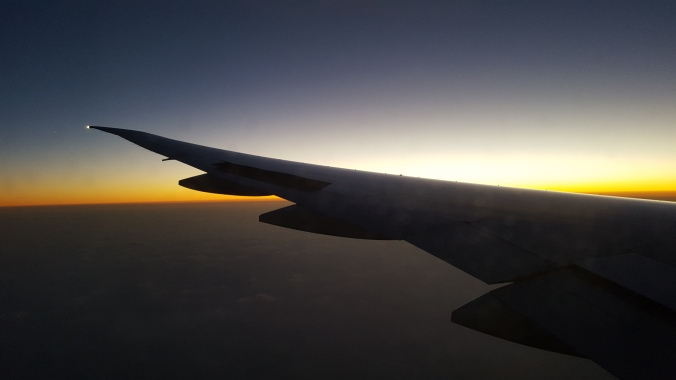 Flying in the skies over Doha