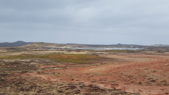 The colourful landscape of the Gunnuhavr geothermal area