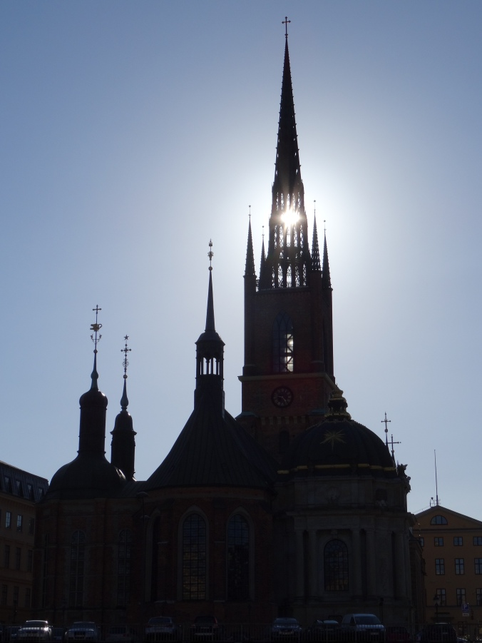 A church in Gamla Stan, Stockholm