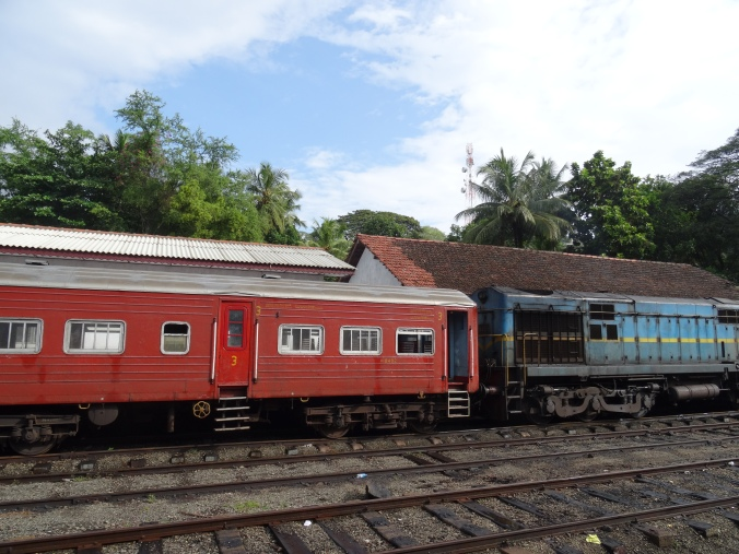 Trains in Sri Lanka