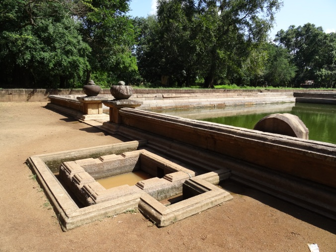 Bathing pond (Kuttam Pokun) Anuradhapura, Sri Lanka