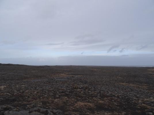 Barren landscape in Iceland