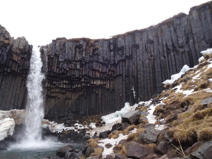Svartifoss waterfall, Vatnajökull National Park, Iceland