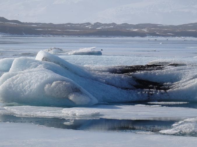 Icebergs in Jökulsárlón glacial lagoon, Vatnajökull National Park, Iceland