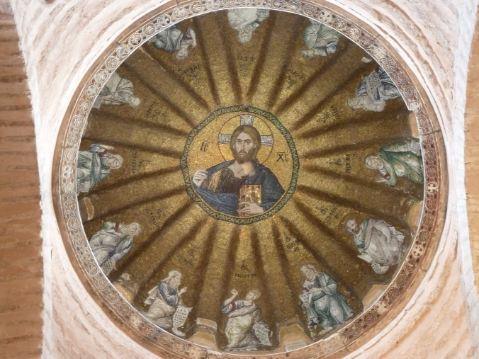 Inside the Church of the Pammakaristos