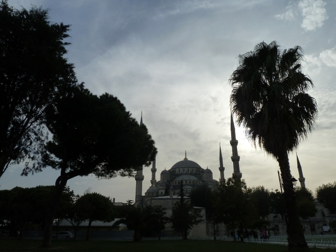 Another of Istanbul's mosques