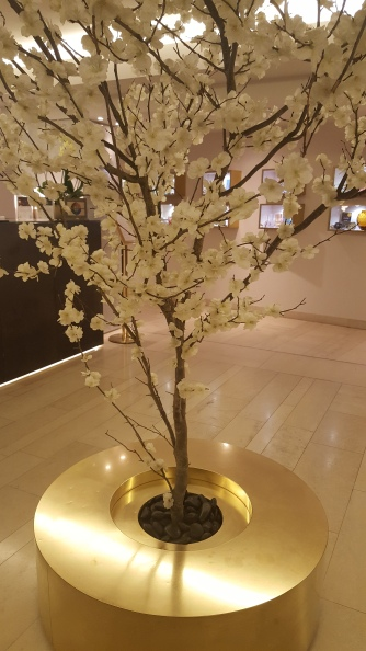 Lobby of the Mandarin Oriental, Prague
