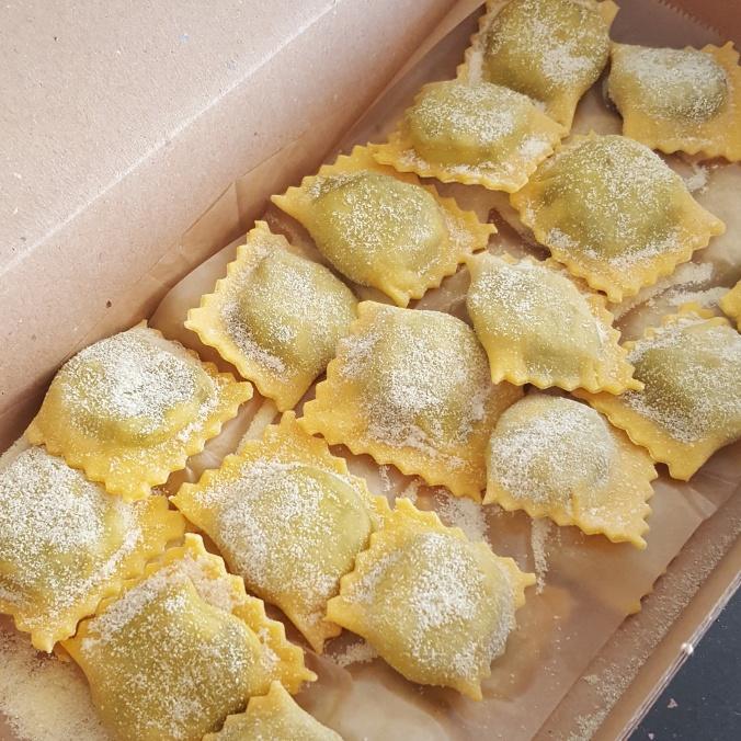 Burro e Salvia's handmade pasta, Redchurch Street