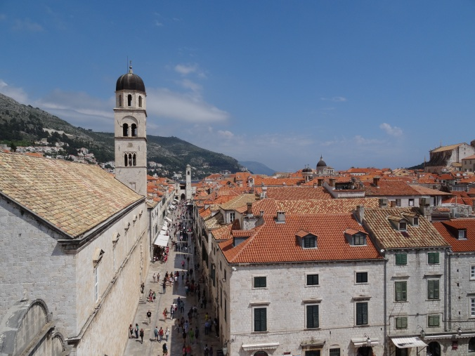 Dubrovnik Old Town from the walls