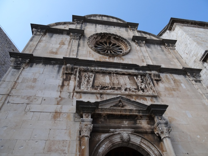 St Saviour's Church Dubrovnik Old Town