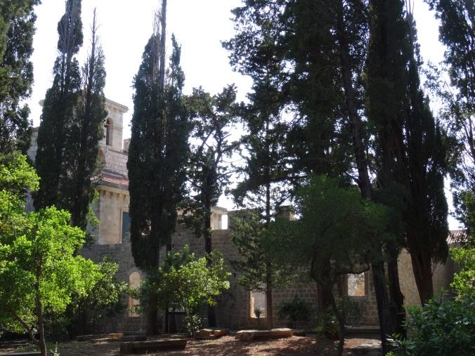 The monastic complex, Lokrum Island
