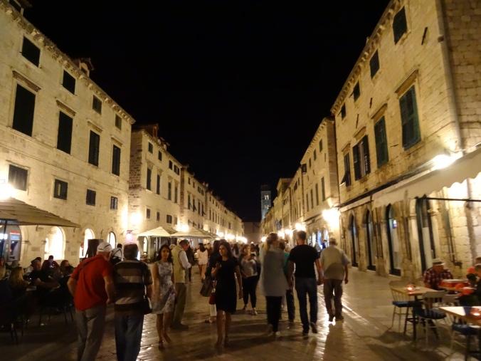 Stradun by night, Dubrovnik Old Town
