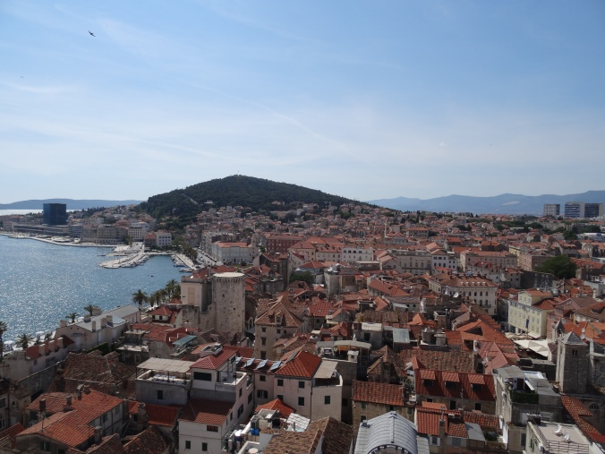 View of Split from the bell tower