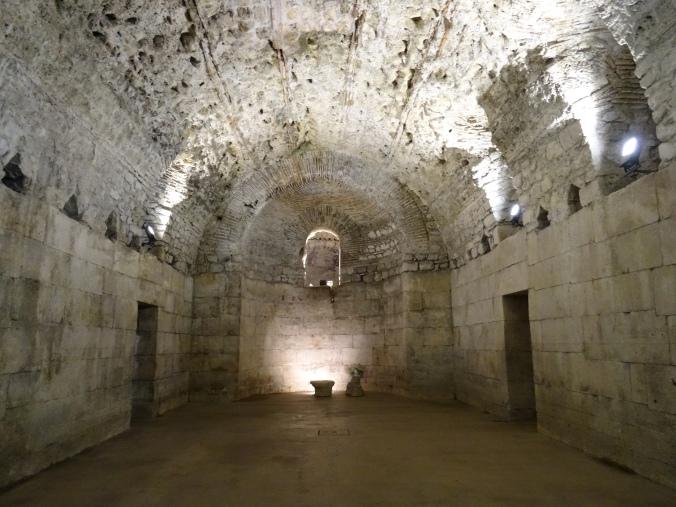 Diocletian's Palace basement halls, Split
