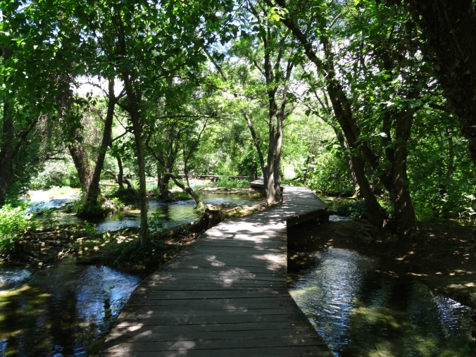 Boardwalks through Krka National Park
