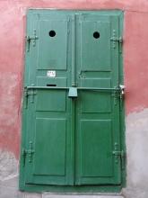 Door in Sibiu