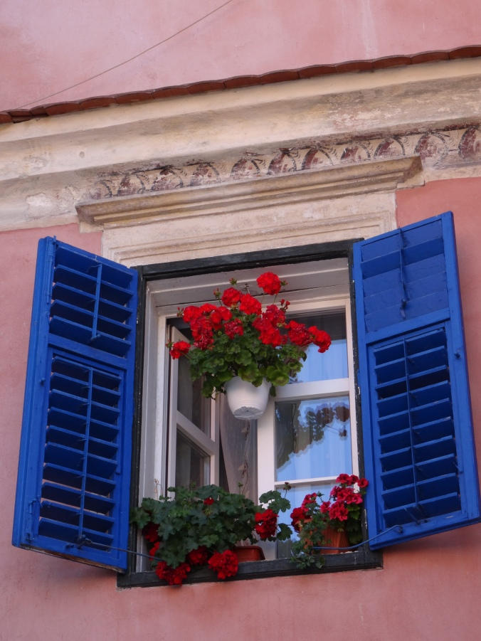 Window in Sibiu