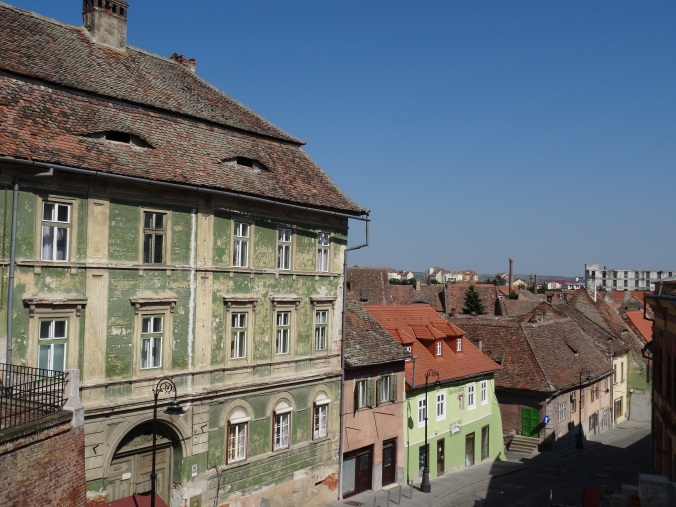 Houses in the Lower Town, Sibiu