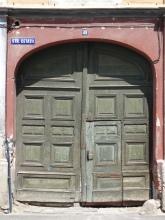 Old gateway in Sibiu