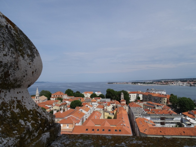 Zadar from the Cathedral bell tower