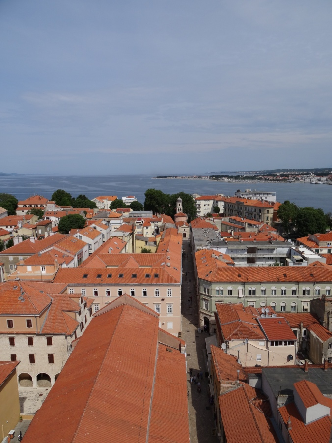 View of Zadar from the Cathedral bell tower