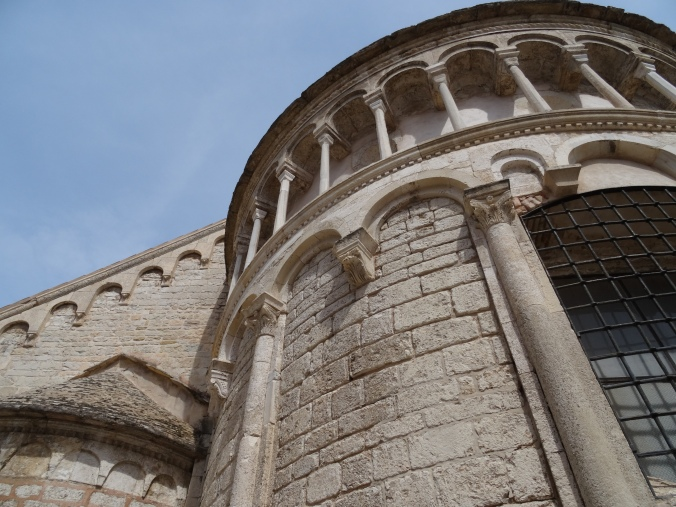 Detail of St Chrysogonus church, Zadar