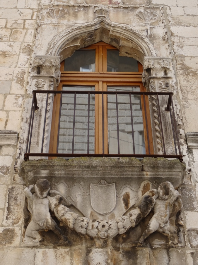 A Venetian style window in Zadar