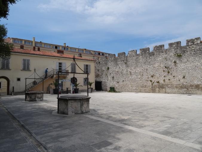 16th century five wells square, Zadar, Croatia