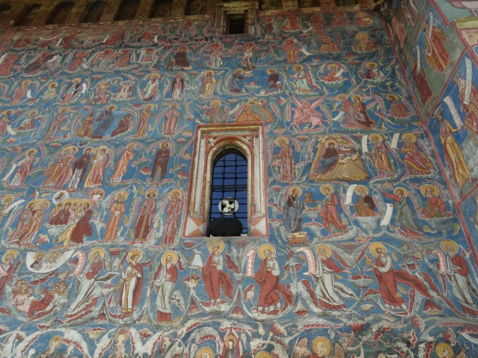 South wall, Tree of Jesse, Moldovita monastery, Romania