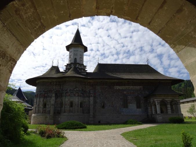 Sucevita monastery, Romania