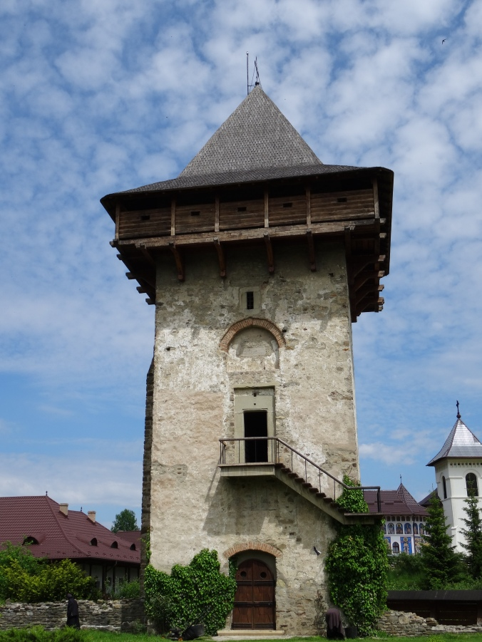 Watch tower at Humor Monastery