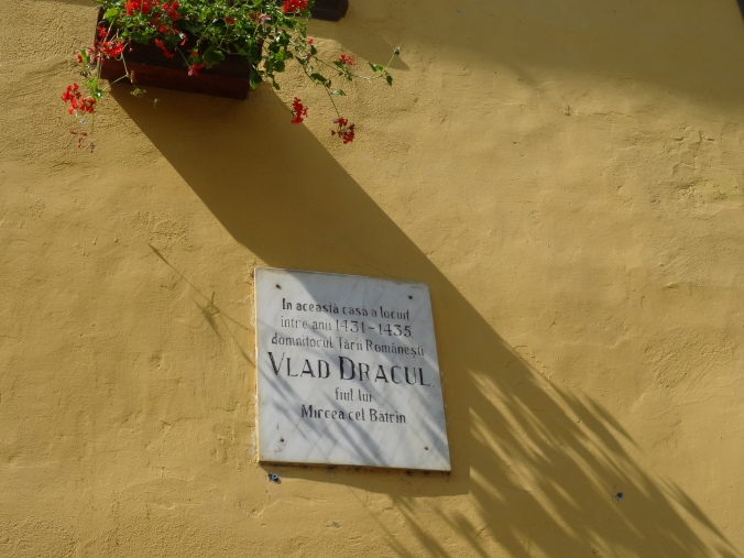 Birth place of Vlad Dracul in Sighișoara, Romania