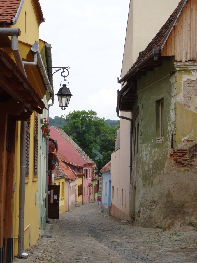 Coloured houses, Sighișoara