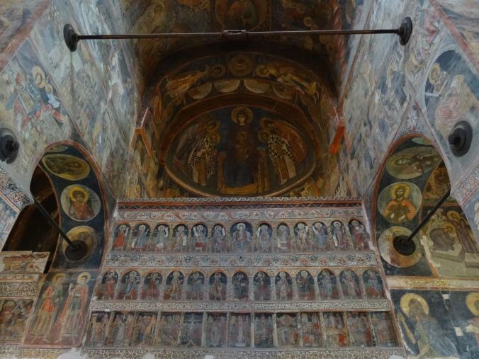 Interior of Biserica Domnească Sfântul Nicolae, Curtea de Arges, Romania