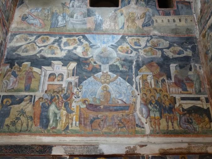 Frescoes in Biserica Domnească Sfântul Nicolae