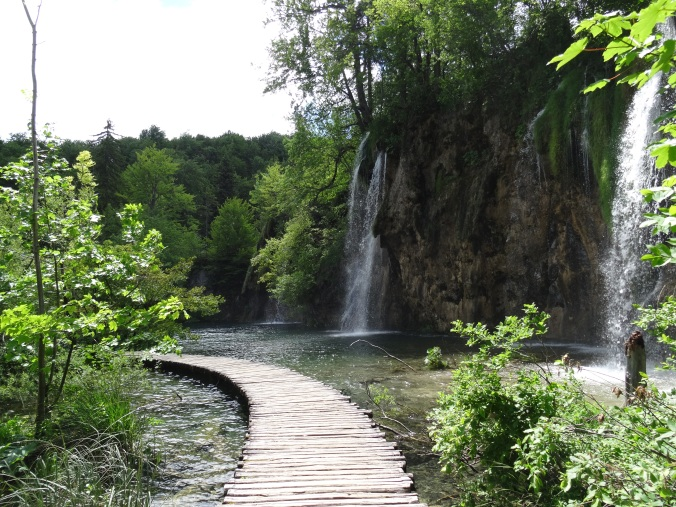 Boardwalks in Plitvice National Park