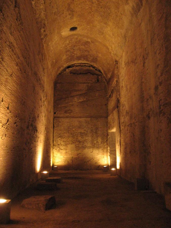 Nero's huge Domus Aurea, Rome