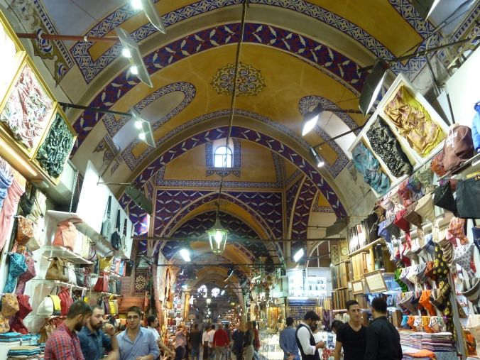 Shopping in Istanbul's Grand Bazaar