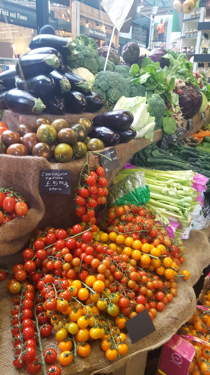 Fruit and veg on offer at London's Borough Market