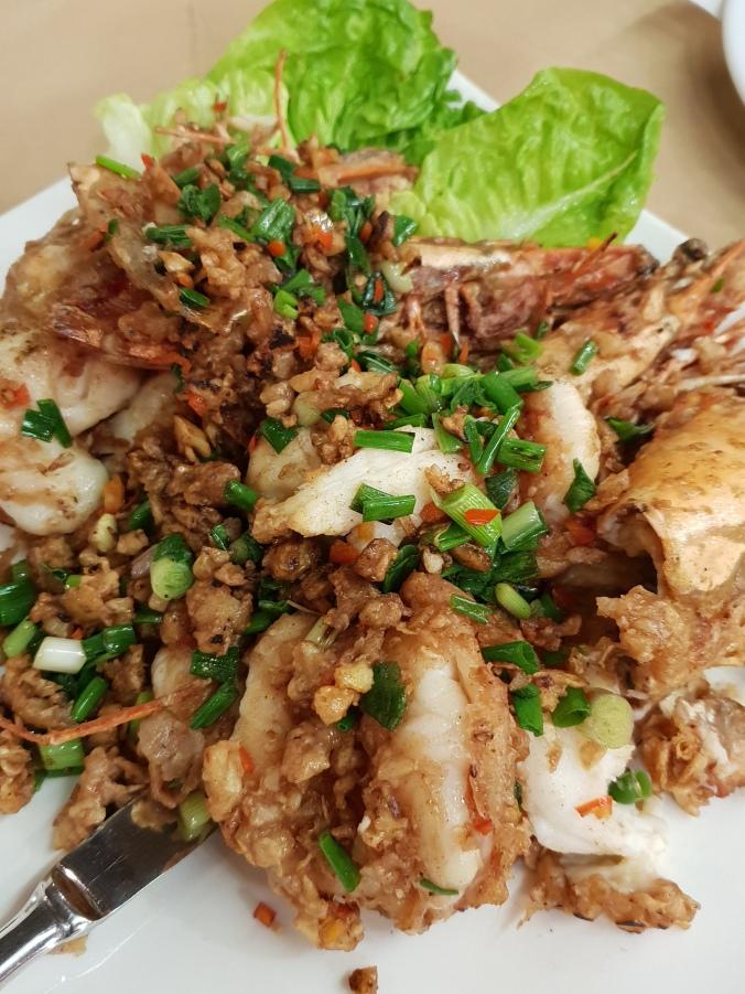 Mantis shrimp at Orkid Ria, Pantai Cenang, Langkawi