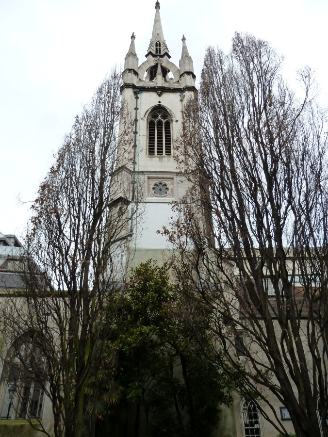 St Dunstan's in the East church garden