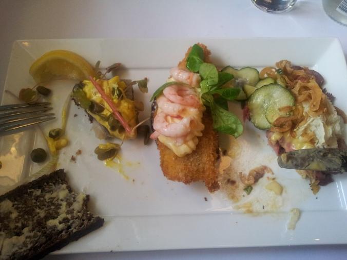 Lunch at Restaurant Schønnemann