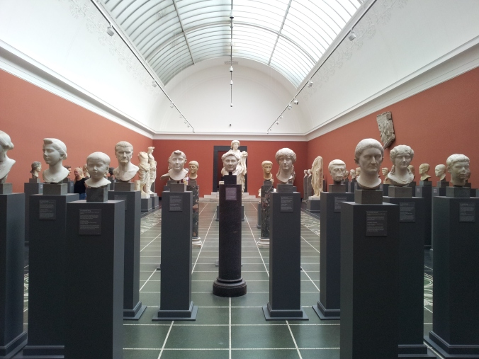 A lot of heads in the Glyptotek