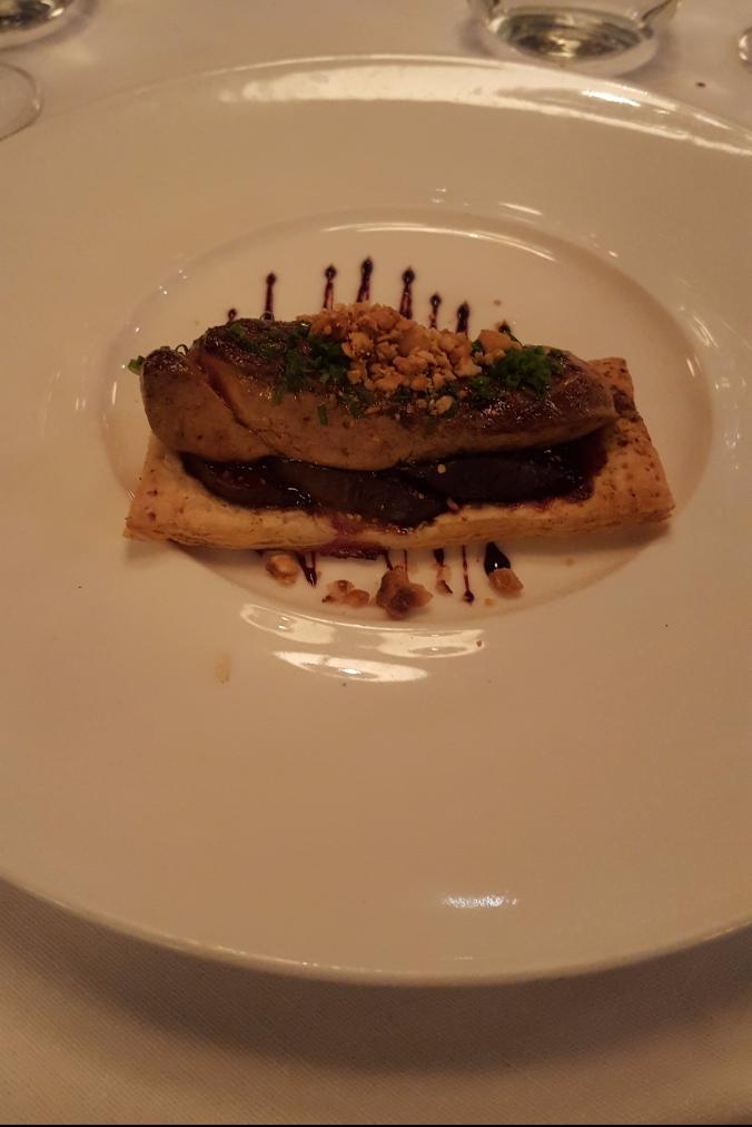 Foie gras at Noize restaurant, Fitzrovia