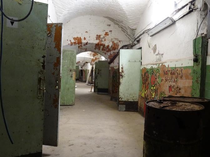 Hallway in Patarei Prison