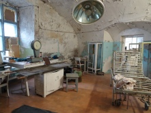 Old operating theatre in Patarei Prison