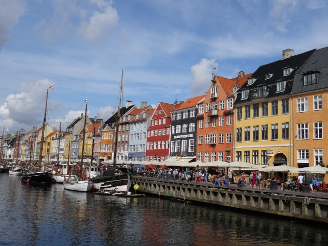 Colourful Nyhavn, Copenhagen