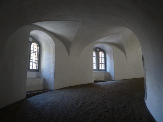 Spiral ramp to climb the Round Tower, Copenhagen