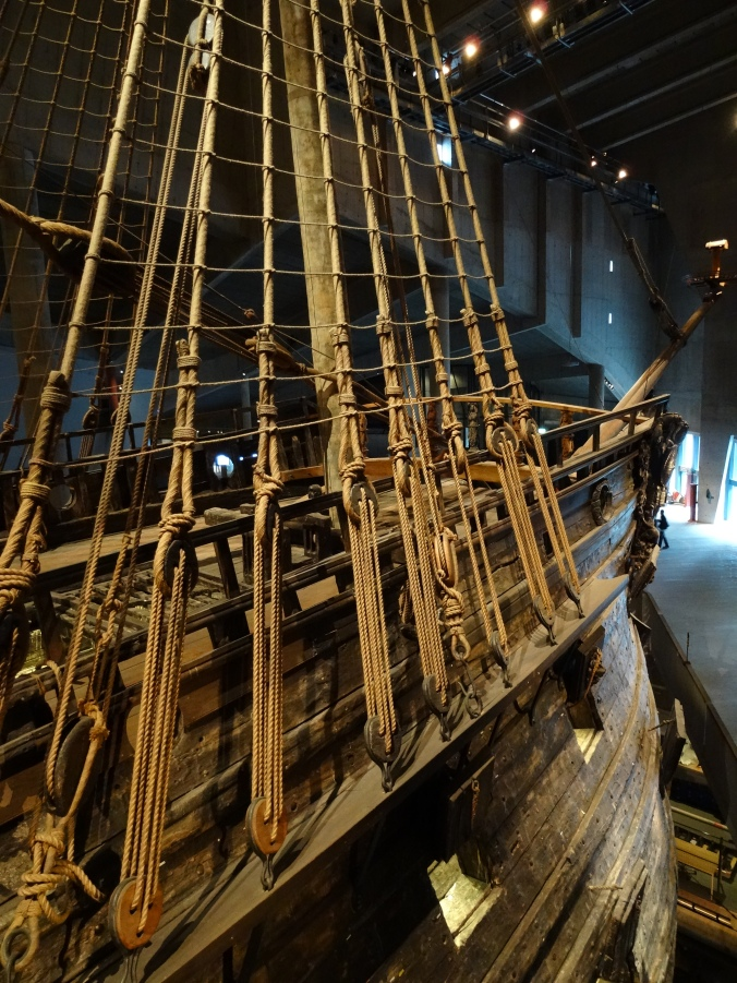 17th century warship, the Vasa in Sweden's Vasamuseet
