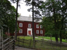 Old wooden Swedish house at Skansen